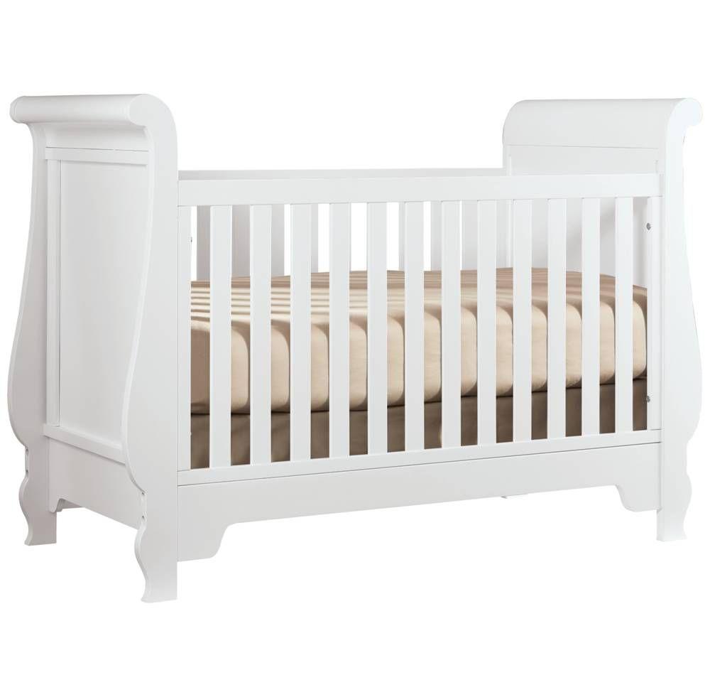 Pottery barn kids sleigh crib - Grand Sleigh Crib Young America Crib I Used For The Girls