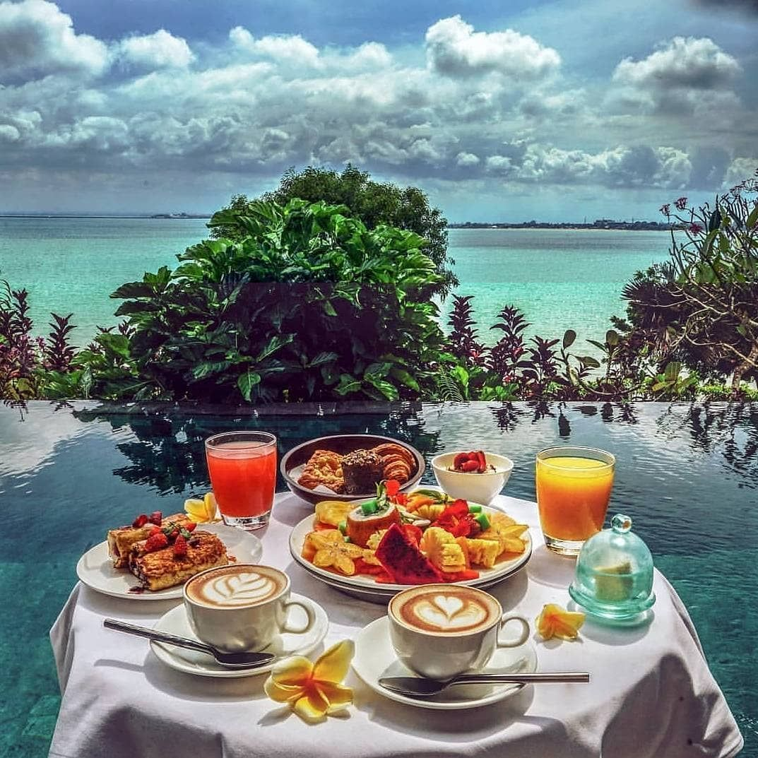 """Impeccable Hotels on Instagram """"Breakfast mood at fsbali"""