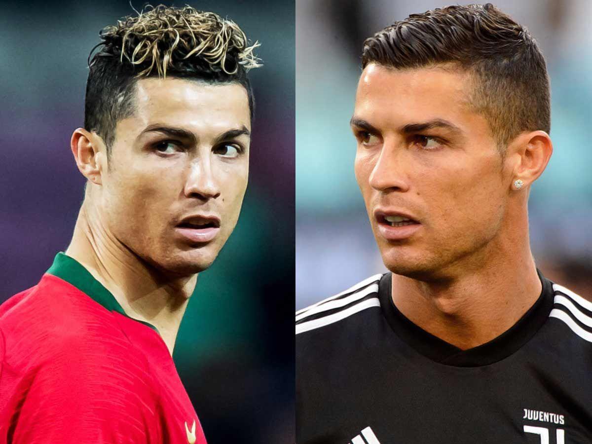 Cristiano Ronaldo Badhaircuts Badhaircutsmen Think That