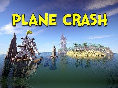 PLANE CRASH! - Minecraft Beautiful Survival Island - Ep.1 - http://prepping.fivedollararmy.com/uncategorized/plane-crash-minecraft-beautiful-survival-island-ep-1/