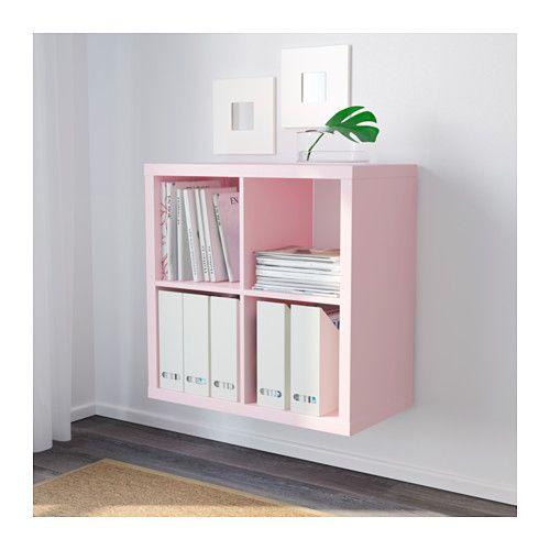 Schwebetürenschrank ikea  KALLAX Shelving unit, light pink light pink 30 3/8x30 3/8 $35 ...