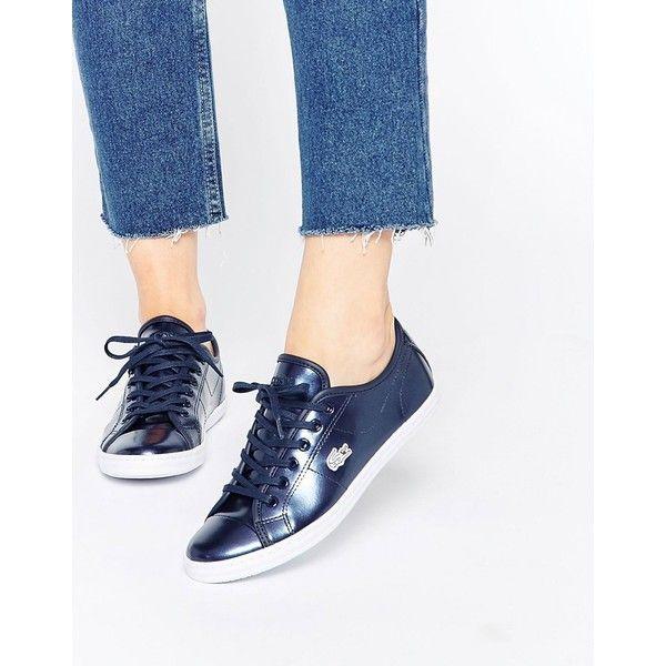 Buy Women Shoes / Lacoste Leather Ziane Navy Sneaker Prc Trainers