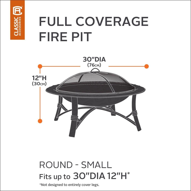 Photo of Classic Accessories Veranda Small Round Fire Pit Cover Full Coverage #Veranda, #…