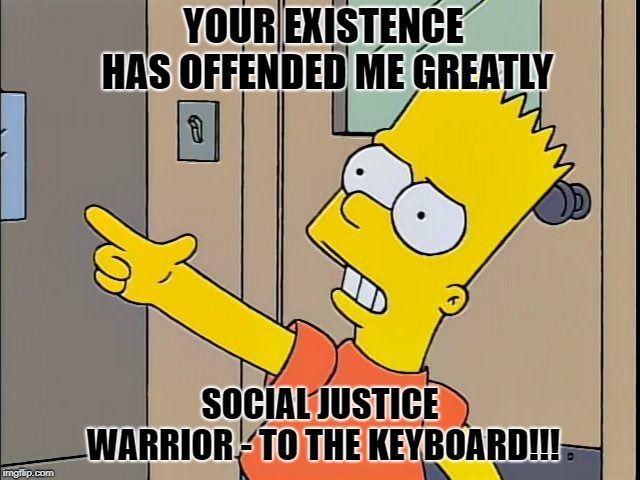 Social Justice Warrior | Social justice warrior, Justice ...