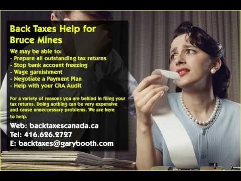 Bruce Mines   Back Taxes Canada.ca   416-626-2727   taxes@garybooth.com   CRA Audit, Tax Returns