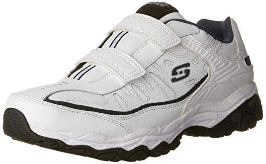 5b36109e93620 Amazon.com | Skechers Men's Afterburn Strike Memory Foam Velcro ...