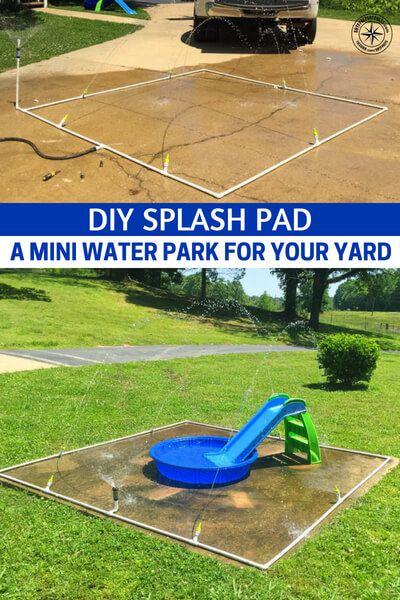DIY Splash Pad - A Mini Water Park For Your Yard   Splash ...
