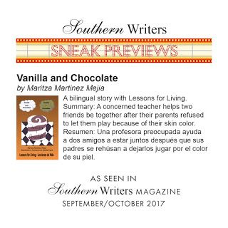 Southern Writers Magazine Sneak Preview Vanilla and Chocolate Second Edition by Maritza M. mejia