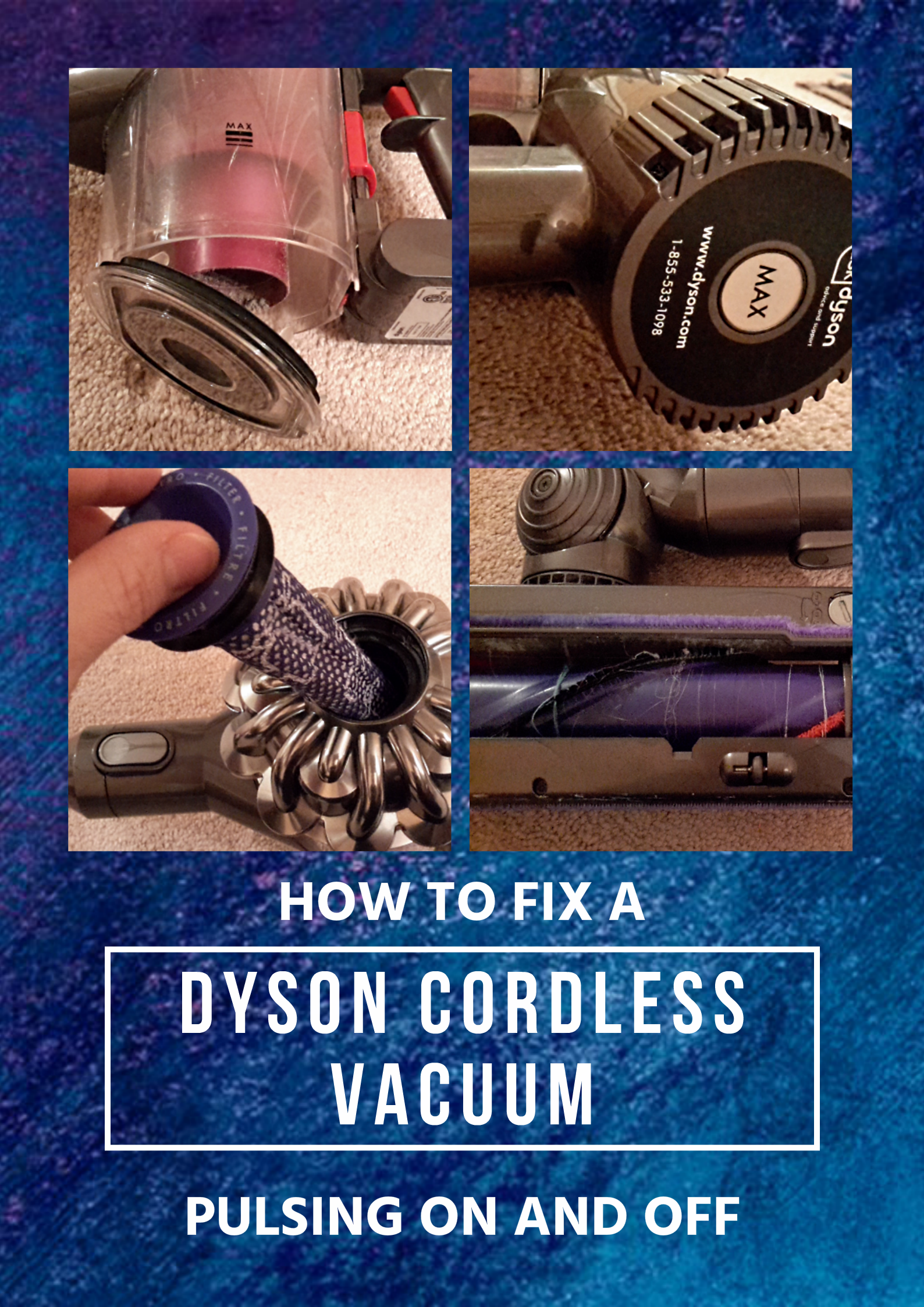 How to Fix Your Dyson Cordless Vacuum Pulsating Off and On