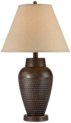 Auburn Hammered Bronze Table Lamp Universal Lighting And Decor  Http://www.amazon