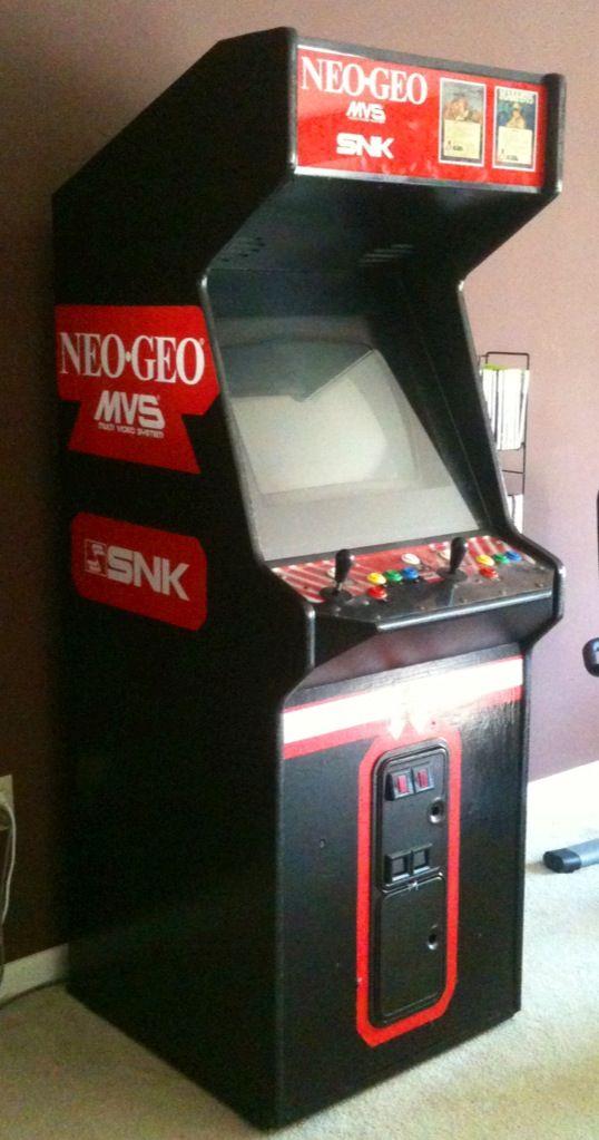 Upcycled Neo Geo