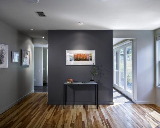 natural hickory compliments this room so much love the use of cool