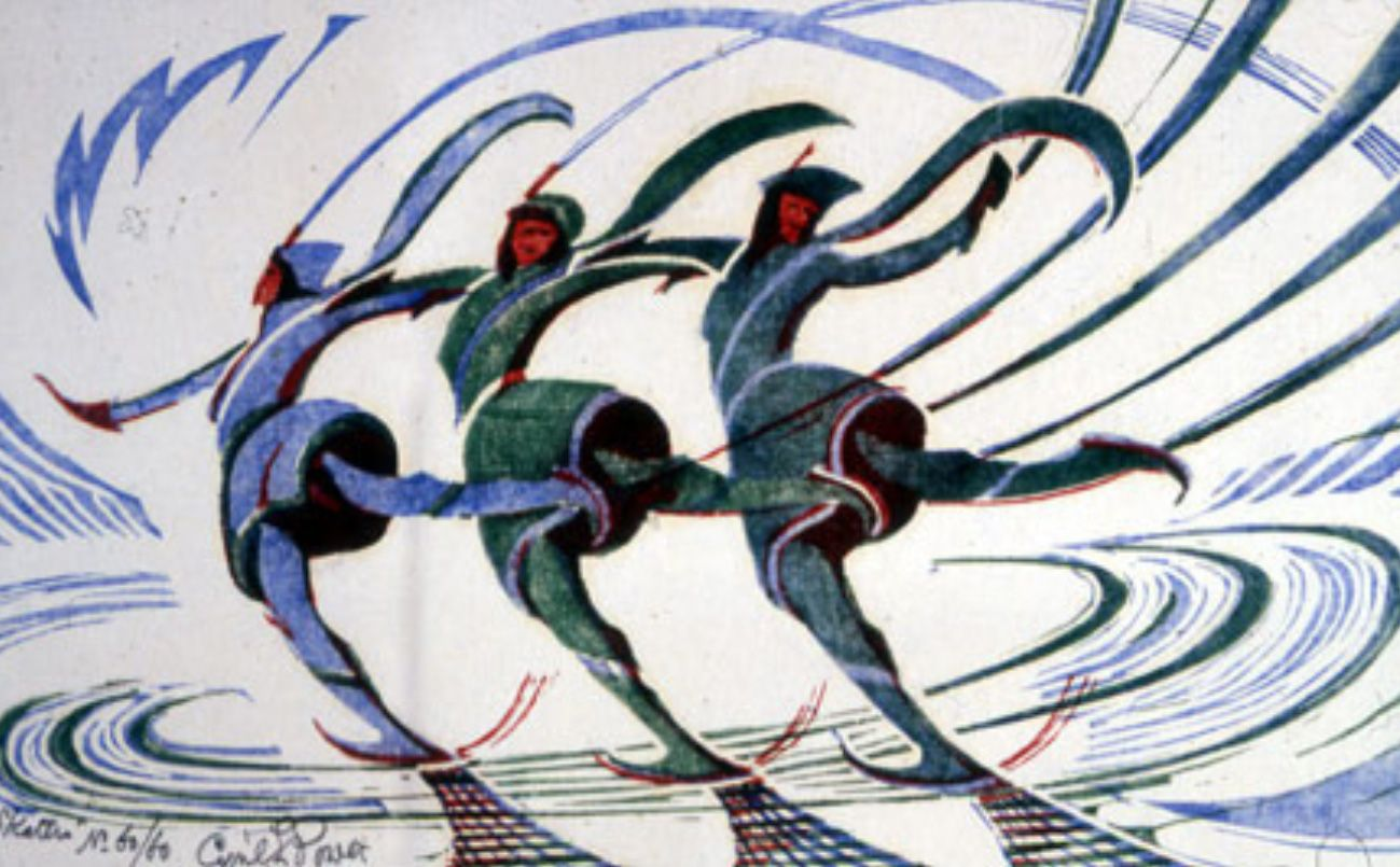 Cyril Power Skaters, c 1932