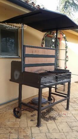 Barbecue Mobili Da Giardino.Barbecue Artigianale In Ferro Fai Da Te Arredamento Da Giardino Barbecue