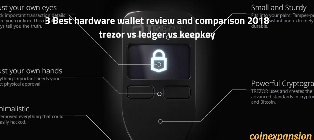cryptocurrency best hardware wallets for bitcoin altcoins