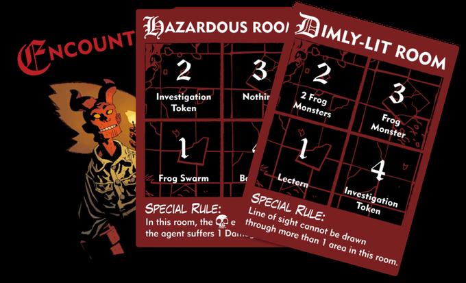 Encounters Hellboy The Board Game
