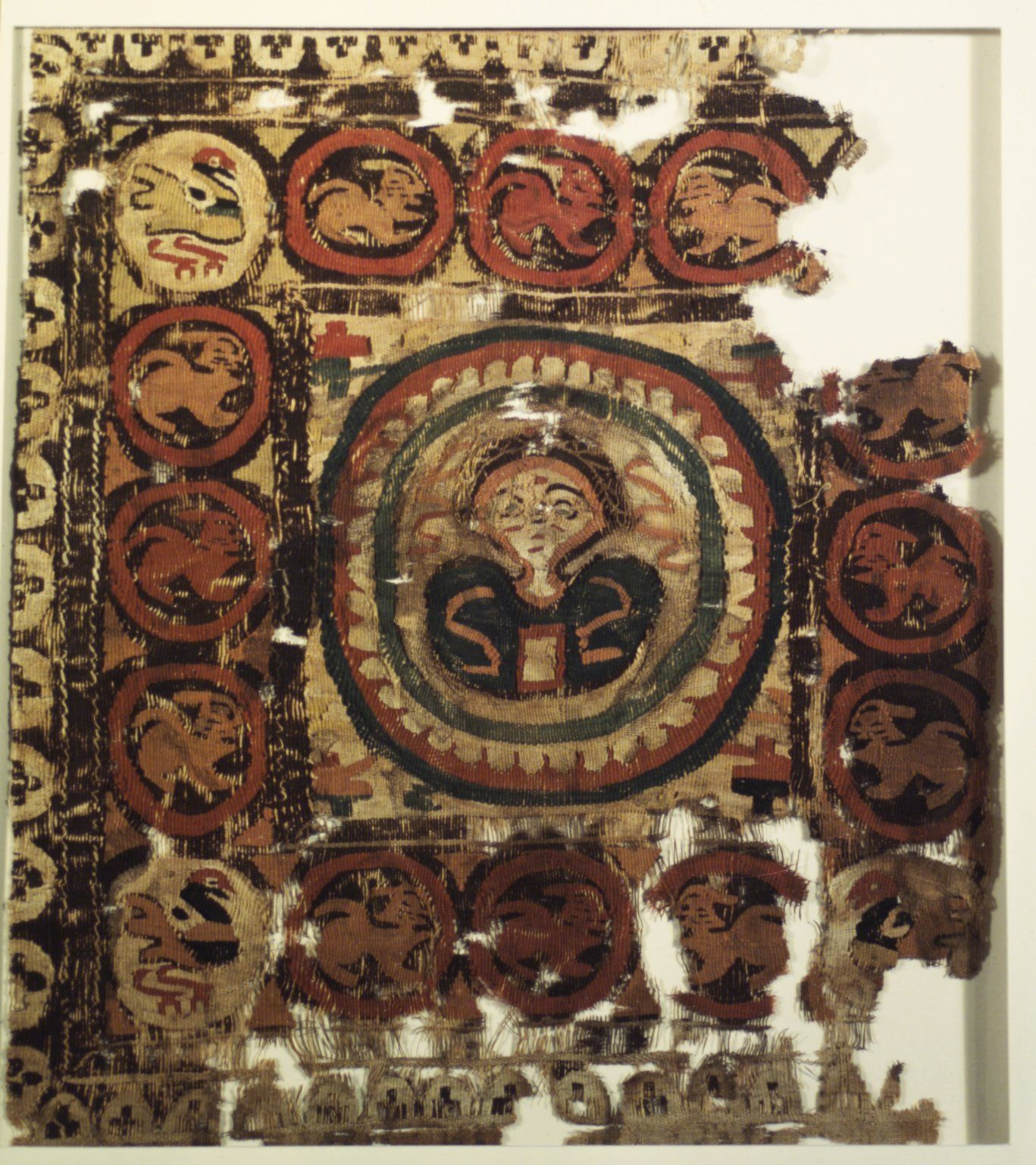 Smithsonian World Map Rug: Brooklyn Museum: Coptic Textile
