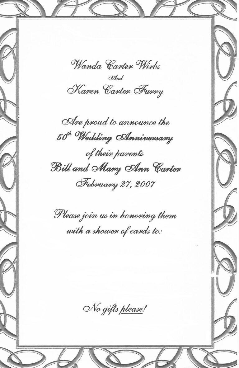 Free 25th Anniversary Invitation Templates 25th W 50th Wedding Anniversary Invitations Wedding Anniversary Invitations 25th Wedding Anniversary Invitations
