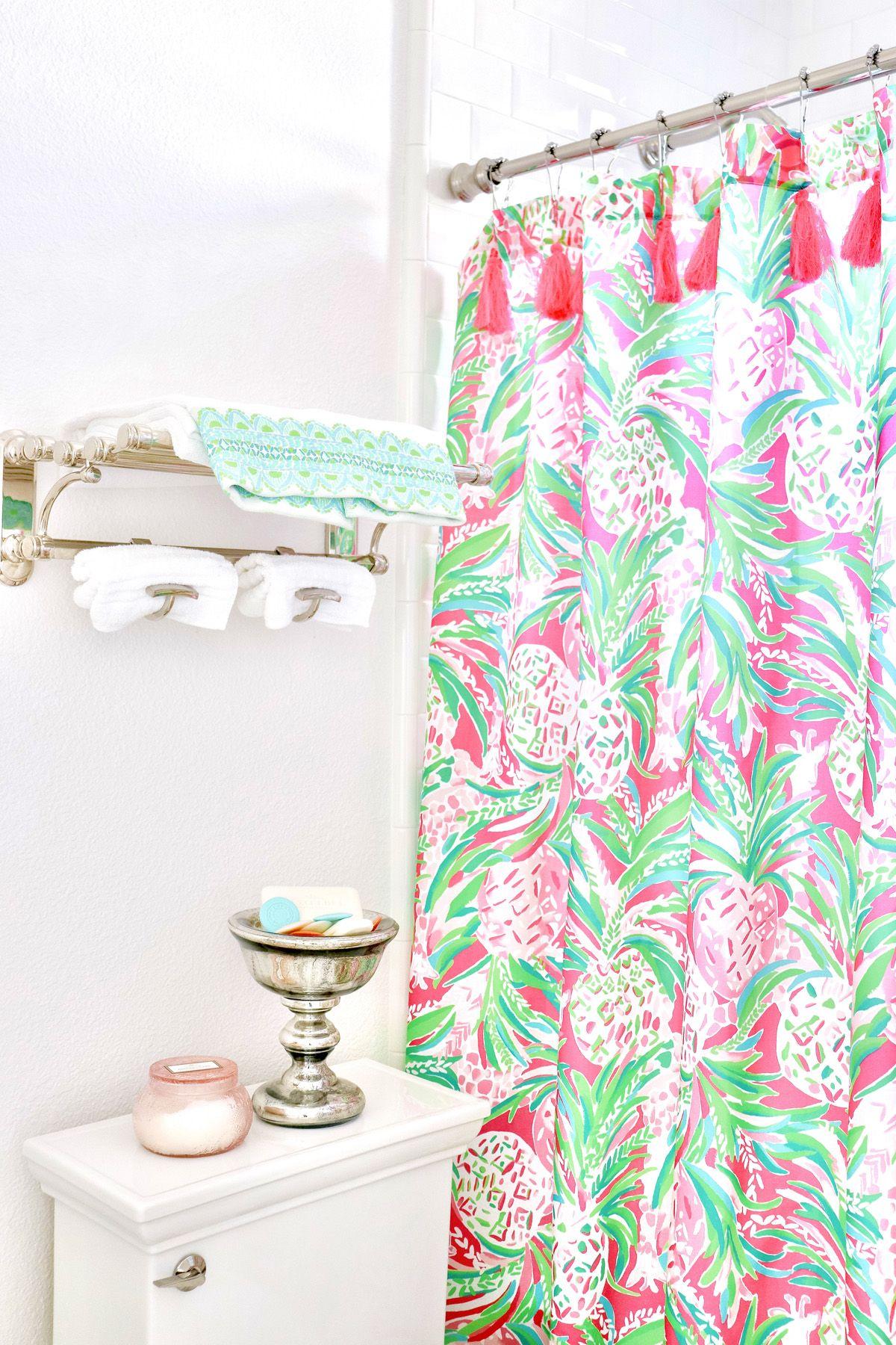 Palm Beach Inspired Guest Bath Beach Style Bedroom Beach Shower