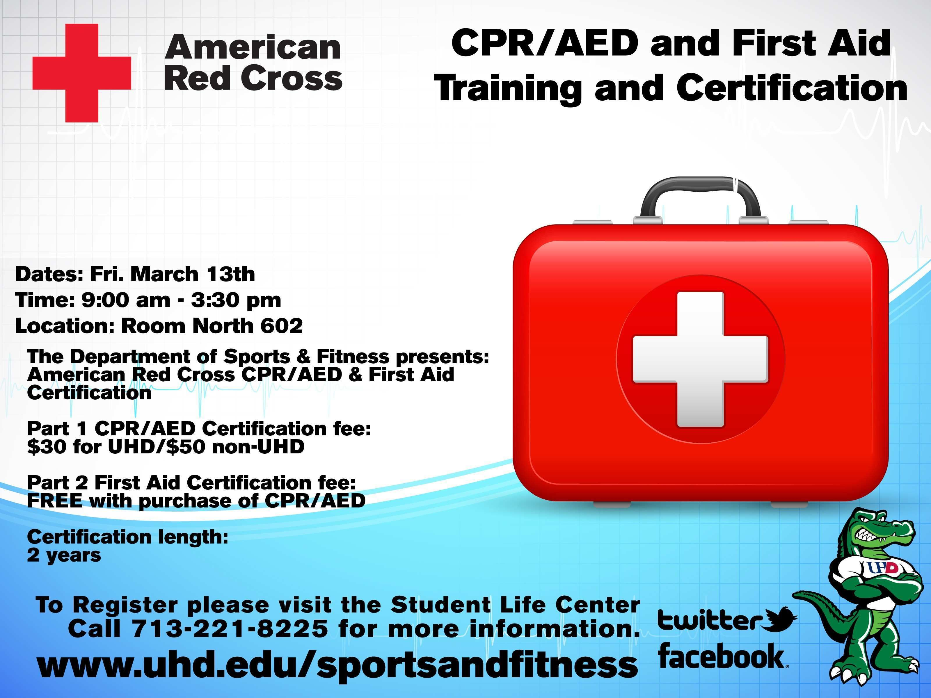 Cpr Aed Certification Elegant Campus Cpr First Aid Training Fered
