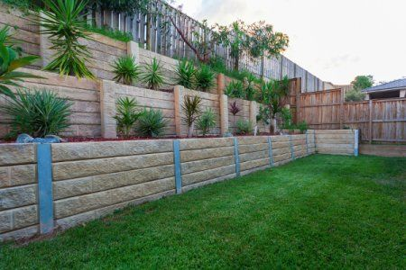 Landscaping on an incline doesn't have to be difficult ... on Inclined Backyard Ideas id=26414