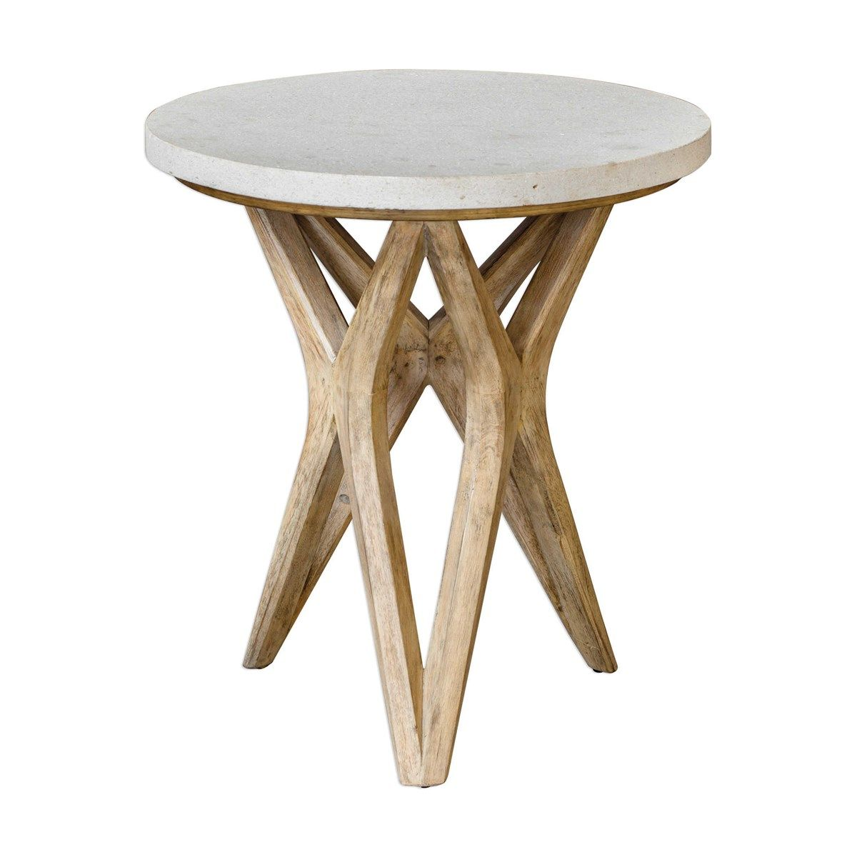 Uttermost Marnie Limestone Accent Table Accent Table Coffee