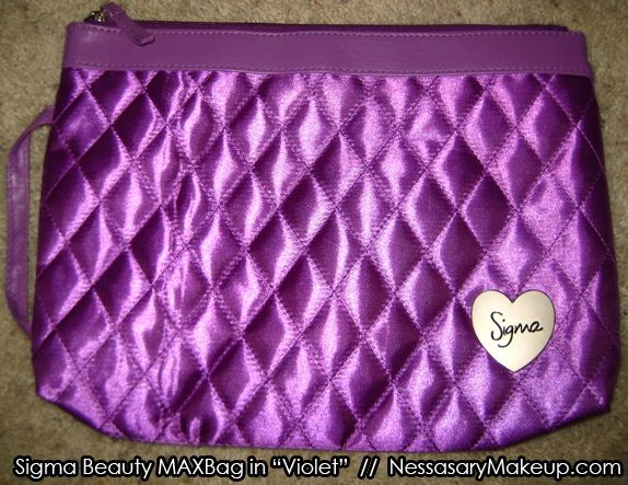 Sadly they don't sell these anymore BUT I'm going to make one and I will post a video on my blog on how to make it. All you need is Purple Quilted Fabric, a purple zipper and I want to find a small wooden heart and paint it silver. Then I will take a sharpie and write my name so it will be unique.