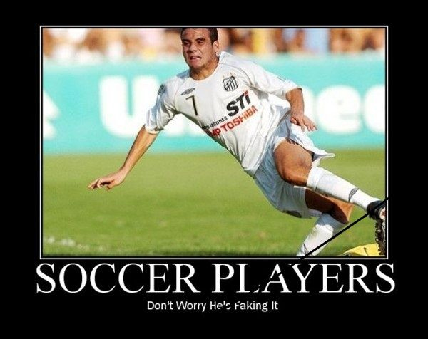 Not All Soccer Players Fake Injury! | Soccer:) | Soccer