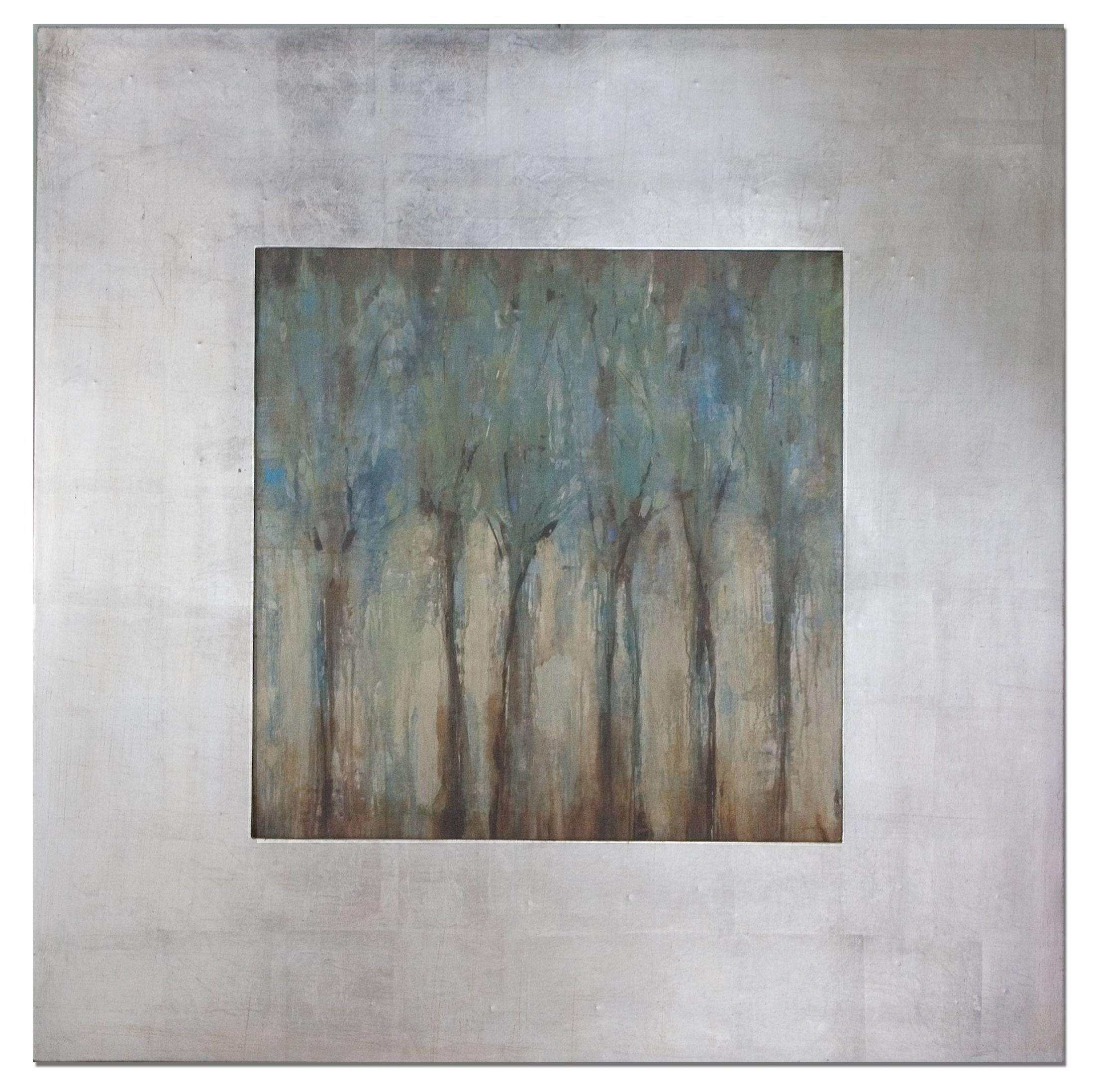 Windblown framed original painting artistic places pinterest
