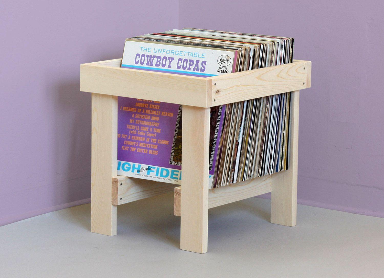 12 meubles pour ranger des vinyles   Record crate, Record storage ...