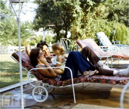 Elvis Sighting At Graceland Pool House Lounging By The