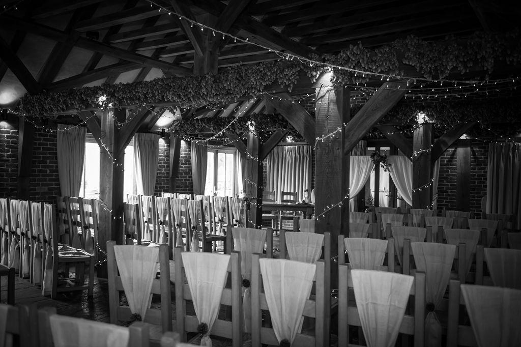 Barn ceremony styled by Idyllic Days - https://www ...