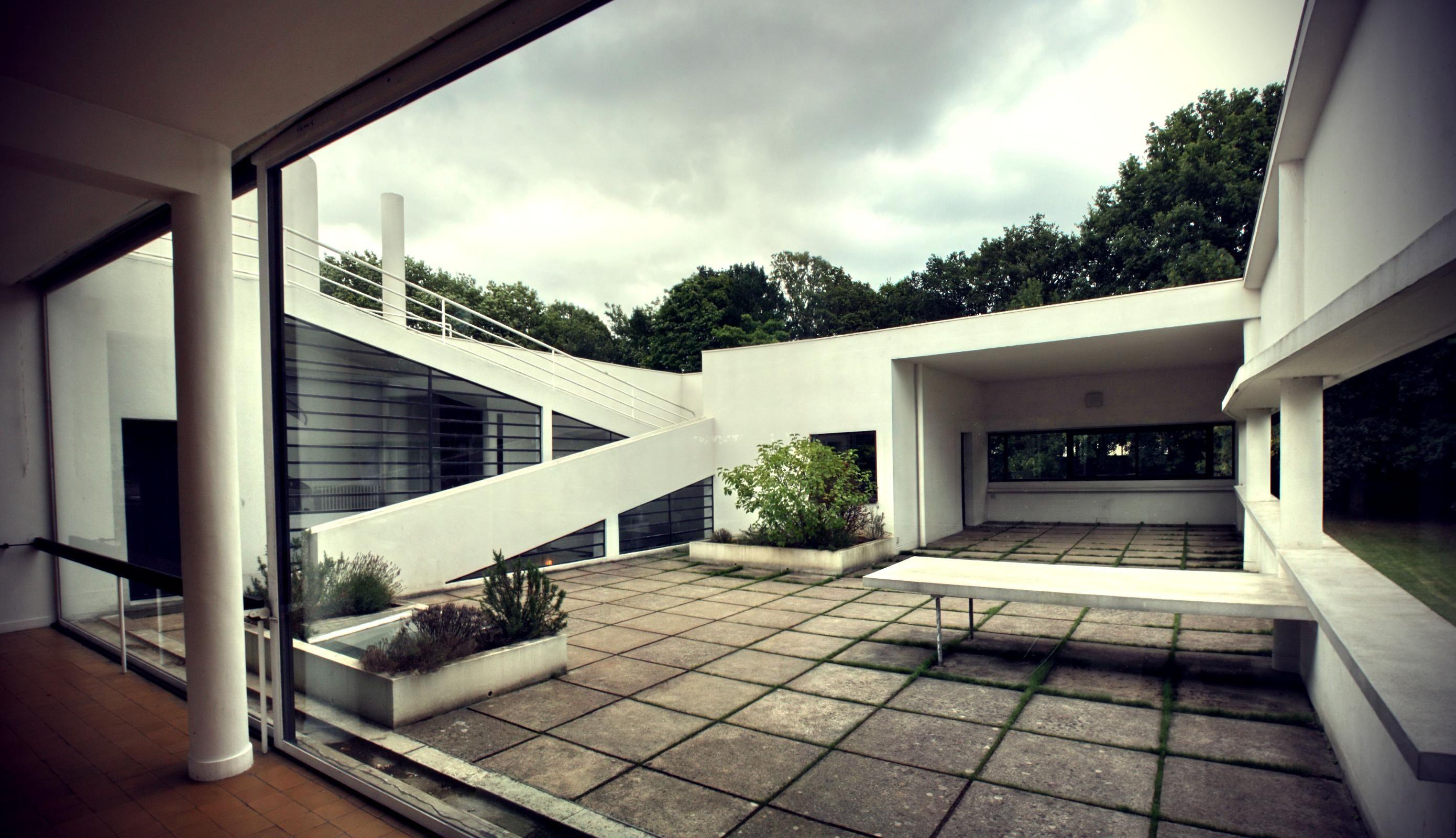 Le corbusier villa savoye interior - Villa Savoye For Tutorial Purposes
