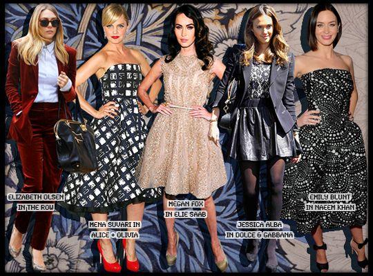 Best Dressed: Elizabeth Olsen in The Row, Emily Blunt in Naeem Khan and More