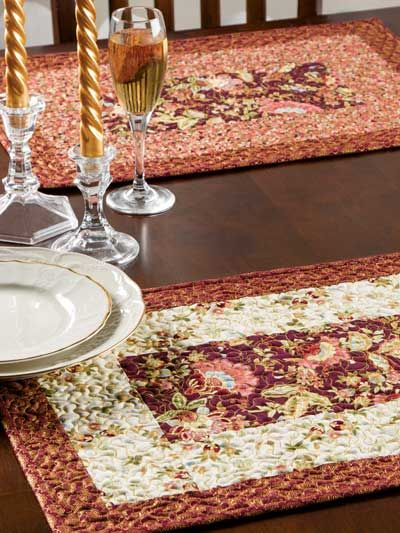 Family Gathering Place Mats Placemats Patterns Placemats Quilt Patterns