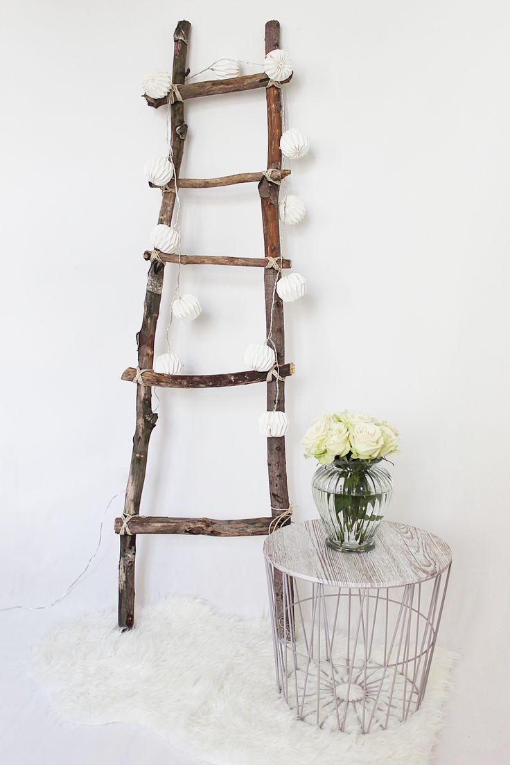 dekoleiter selber bauen dekoleiter selber bauen und leiter. Black Bedroom Furniture Sets. Home Design Ideas