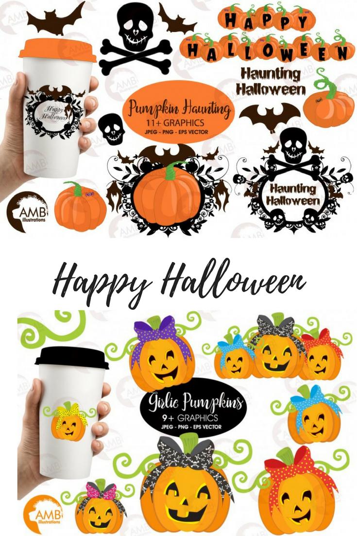 Halloween decorations  HALLOWEEN cliparts Pumpkin clip art ...