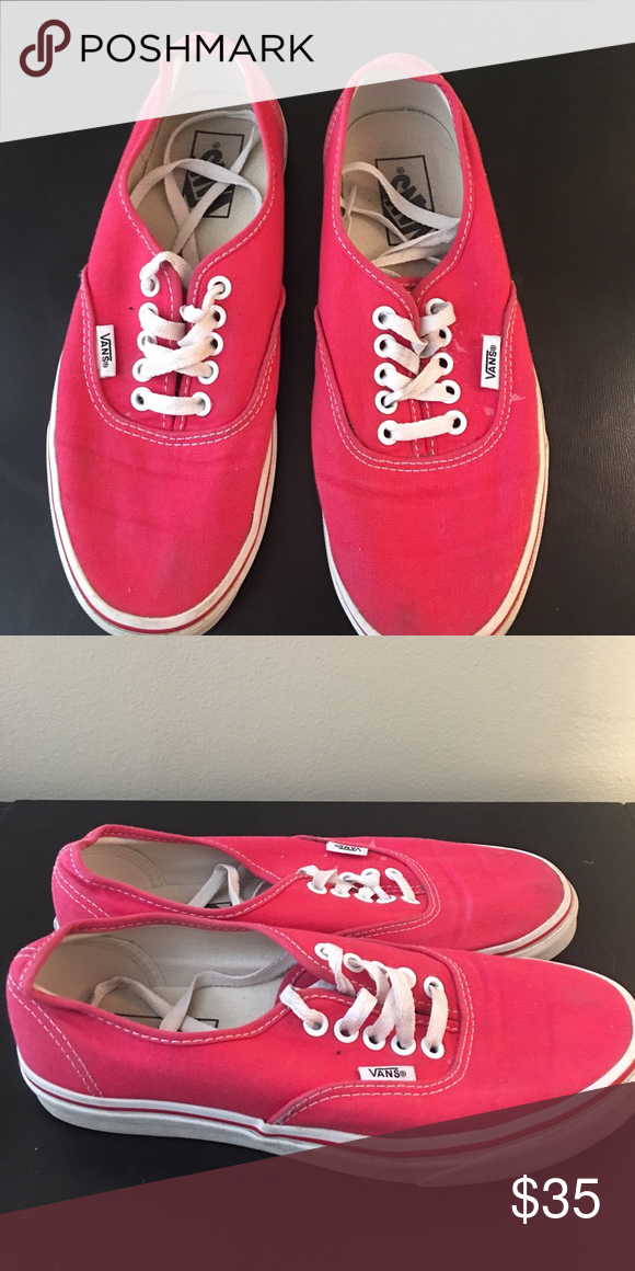 a39af1f295 Selling this Red vans on Poshmark! My username is  jessicaaa6.   shopmycloset  poshmark  fashion  shopping  style  forsale  Shoes