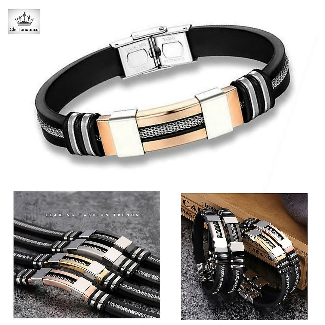 Bracelet Homme Street and City GOLD R Un Bracelet Homme au