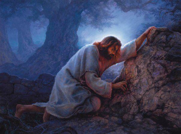 Images lds jesus christ christ in the garden of - Jesus in the garden of gethsemane ...