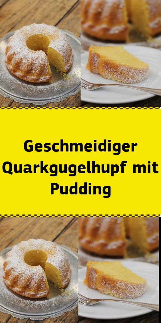 Geschmeidiger Quarkgugelhupf mit Pudding #leckerekuchen