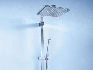 Euphoria System 180 Shower system with thermostat for wall mounting ...
