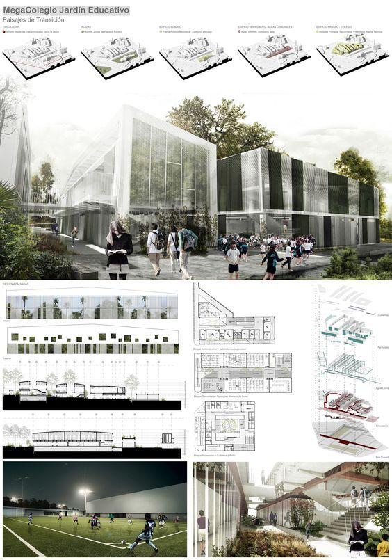 Galería - MegaColegio Jardín Educativo Ana Díaz, equipamiento educacional a escala urbana en Medellín - 351: