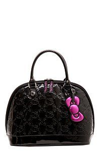 80b15b0a1 Loungefly - Hello Kitty Black Patent Embossed Bag | Loungefly | Misc ...