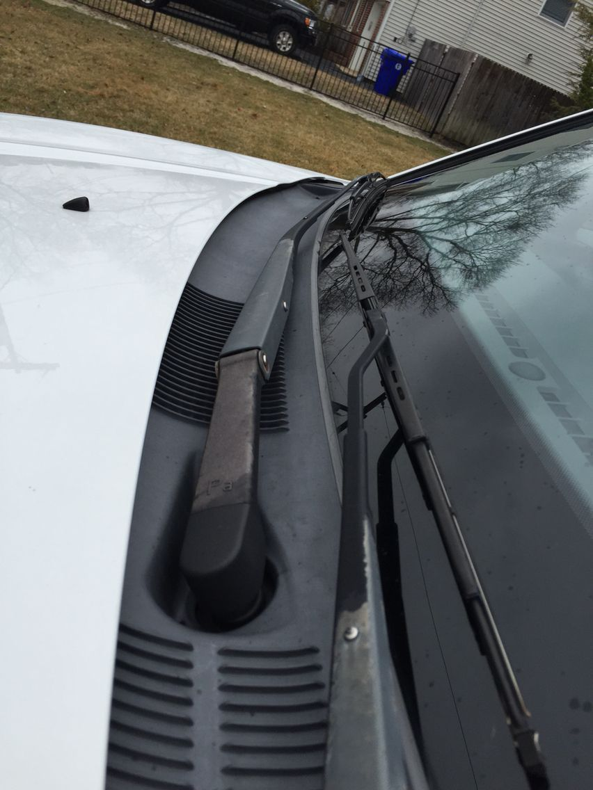 Windshield wipers need some TLC too! Try soaking a rag