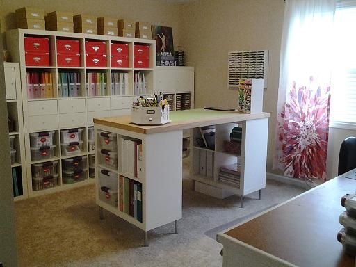 Arbeitszimmer ikea expedit  more pics at http://www.splitcoaststampers.com/forums/mission ...