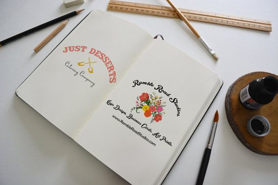 Logo Design for Website, Blog, Marketing, Print - Limited Edition! Perfect for Food Blogger, Baker, Caterer, Cooking Class & more!