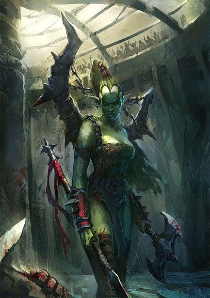 Orc warrior - female