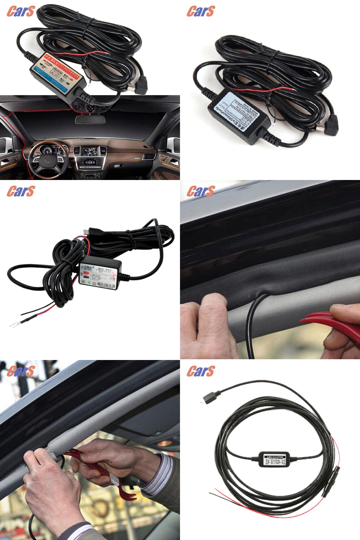 [Visit to Buy] Car DVR Wire 12V24V Car Camera Recorder