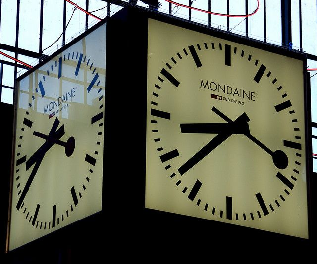 Mondaine Clock Zurich Stuff Swiss Railway Clock Clock
